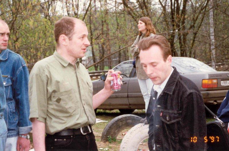Слева - Паша Чаплеевский, справа - Дима Терешин